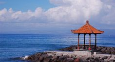 """Beach Candidasa is the name of a temple complex on a lagoon by the edge of the sea. Set at the foot of Mount Agung, the white sandy beach of… Continue reading """"Candidasa"""" Bali Tour Packages, First Class Hotel, Beach Trip, Beach Travel, Tourist Places, Fishing Villages, Holiday Activities, Amazing Nature, Beautiful Beaches"""