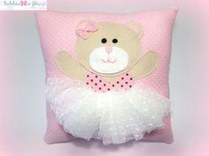 almohadon con oso balet