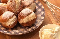 Recept voor Sneeuwballen (oliebollen met slagroom en poedersuiker) - koopmans.com