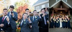 Groomsmen | Bridesmaids | Wedding Day | Crooked Lake House | Country Wedding | Bride & Groom | Love | Fall Wedding © Matt Ramos Photography