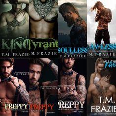 T.M. Frazier King series
