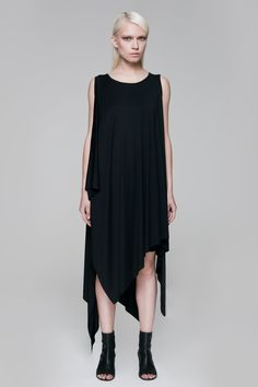 Blackblessed | Draping Maxi Top
