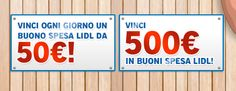 LanciaTHEvi con Lidl – Vinci buoni spesa!