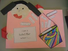 Bits of First Grade: Bucket Fillers