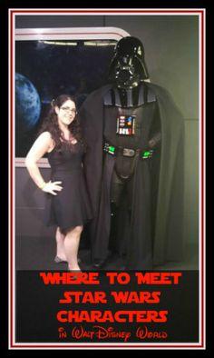 Wondering where to meet Star Wars characters in Walt Disney World?