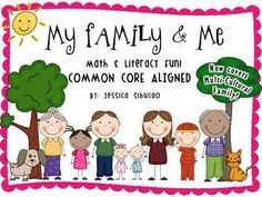 Family and Me - 84 pages - Updated as of 9/16/13 - Talking about families is one of many ways to get to know your students more. They will be given a chance to talk about their family and other families. Through this unit, students will understand that each family is unique and special.