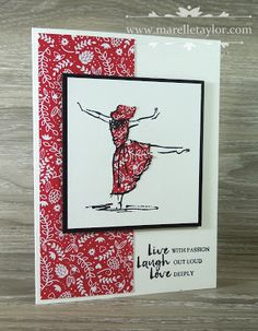 Marelle Taylor Stampin' Up! Demonstrator Sydney Australia: Sending Love with Beautiful You