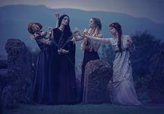 Agnieszka Lorek fashion photography gothic halloween witches pagan