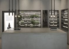 Jewellery shop converted into felt-lined Aesop store.