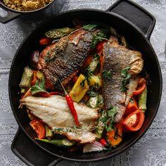 Sea bass in coconut cream - Great British Chefs