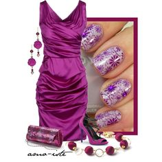 """""""Dressed Up Nails"""" by amo-iste on Polyvore"""