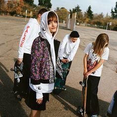 ハイブランドMIXが鍵ペイトンナイト流スケーターファッション
