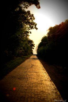 yellow brick road. My original