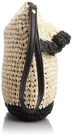 TRYSIL crochet clutch bag