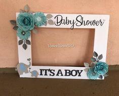 Paper Roses, Baby Crafts, Color Combos, Baby Shower, Frame, Instagram, Babyshower, Picture Frame, Colour Schemes