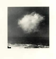 Gerhard Richter, Cloud, 1971 reminds me of a painting I gave to my niece titled storm in a teacup, had a cloud above the teacup Gerhard Richter, White Photography, Landscape Photography, Photo D Art, Sky And Clouds, Oeuvre D'art, Contemporary Art, Illustration Art, Photos
