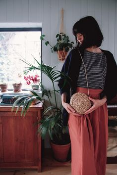 Diy Accessoires, Patchwork Bags, Straw Bag, Simple, Craft, Fashion, Pouch, Purse, Sons