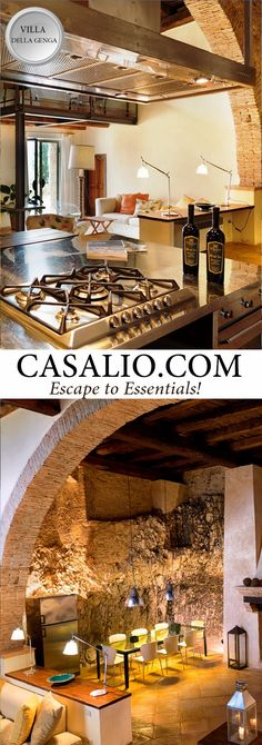 www.casalio.com || Villa della Genga ||  This prestigious estate, located in Spoleto Poreta, belonged to the heirs of the family della Genga until the XV century. A rare beauty, luxuriously restored and evoking a timeless piece of rich history. #LuxuryTravel #LuxuryVillas #Luxury #Villas #LuxuryHomes #Umbria #Perugia (Pinned by #Casalio - www.casalio.com) Our travel blog www.casaliotravel.com