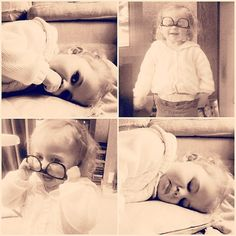 zoella:  Miss this little lady! @Hannah Mounys you have the most adorable child IN THE WORLD! <3