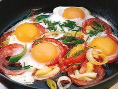 Eier-Tomaten-Pfanne