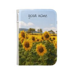 Kindle case with sunflower - $54.95