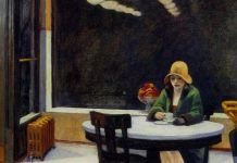 Edward Hopper my favorite!Edward Hopper (July 1882 – May was a prominent American realist painter and printmaker. Edouard Hopper, Edward Hopper Paintings, Funny Illustration, Op Art, American Art, Les Oeuvres, Vintage Posters, Art Posters, Art Inspo