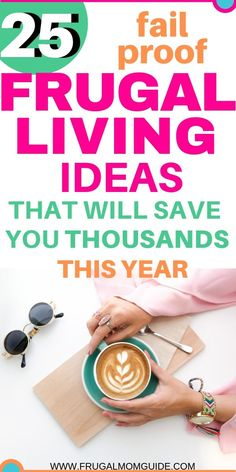 Frugal living for beginners has never been so easy! Check out these amazing frugal living tips to help you save thousands of dollars and stay on budget. This list of frugal living ideas and frugal living hacks will keep you motivated and help you cut down No Spend Challenge, Money Saving Challenge, Money Saving Tips, Money Tips, Saving Ideas, Managing Money, Frugal Living Tips, Frugal Tips, Frugal Family