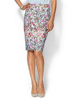 Cynthia Rowley Bonded Slim Skirt | Piperlime