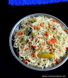 Vermicelli/Semiya upma recipe - Easy South Indian breakfast recipe