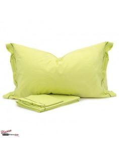 completo lenzuola puro cotone verde lime per un letto estivo, colorato e allegro! da € 37
