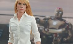 Share this with your friends and receive a $15 promo code. Click here to write your message. Marvel Pepper Potts Sixth Scale Figure