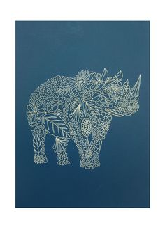 Screen prints by Millie Marotta