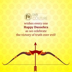 Wishing everyone everywhere a Happy Dussehra!  Thank You all for participating in Navratri Quiz. As we have received responses in huge numbers, it will take some time calculate the result. So, result will be declared by Friday. Stay tuned with Fab Couture. #DussehraGreetings #Fab #Couture #IndianFestivals #Festivity #Fashion #Fabrics #Fun #EnjoyShopping #LookGood #LetsDressTraditional #TraditionalLook