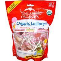 Yummy Earth, Organic Lollipops, Assorted Flavors, 50+ Pops, 12.3 oz (349 g) - iHerb.com. Wonderful lollipops,i LOVE it :D