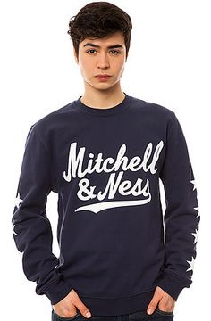 Mitchell & Ness Sweatshirt The Branded Men Margin of Victory in Blue