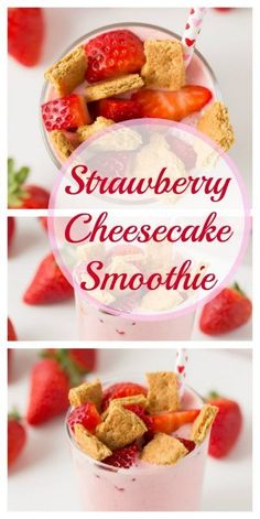 Latest Photo Strawberry Cheesecake Smoothie - Super Healthy Kids Thoughts Healthy Smoothie Recipe Everyone loves an excellent smoothie , but not everyone really feels about Smoothies For Kids, Apple Smoothies, Good Smoothies, Strawberry Smoothie, Strawberry Cheesecake, Strawberry Blueberry, Clean Eating Snacks, Healthy Snacks, Healthy Recipes