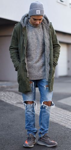 #outfit #broke jeans #style #USA #spring 201 #USA #New Era #The King #swag