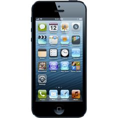Unlocked Apple - Refurbished iPhone 5 4G LTE with 64GB Memory Cell Phone - Black & Slate
