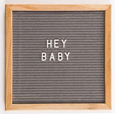 Vintage inspired felt letter boards in 4 colors, the perfect accent piece for any home.