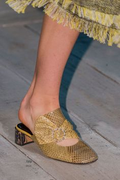 1e1056fb6ced68 Prepare to Take Some Style Risks After Seeing the Genius Shoes at London  Fashion Week
