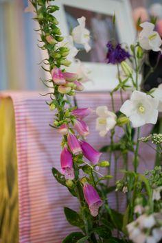 DIY wedding decor, hand picked wild flowers
