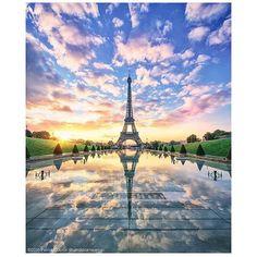 Instagram media tourtheplanet - Eiffel Tower, Paris, France #TourThePlanet Photography by @candidcameraman