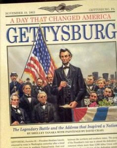 Cover image for Gettysburg : the legendary battle and the address that inspired a nation