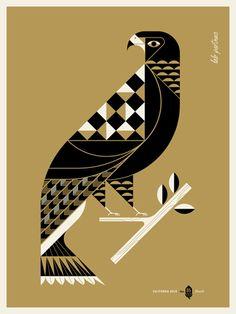 Creative Birds, Lab, Partners, Illustration, and Eagle image ideas & inspiration on Designspiration Gravure Illustration, Art Et Illustration, Illustrations, Animal Original, Gig Poster, Art Graphique, Art Design, Art Plastique, Geometric Art