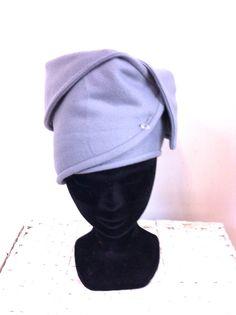 Grijs  fleece hoofdband van FoxandThimble101 op Etsy