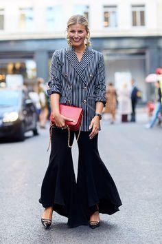 Moda uliczna: tydzień mody w Kopenhadze wiosna-lato 2017