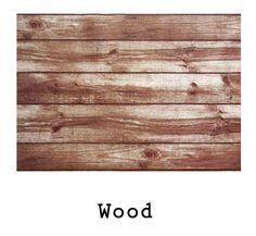 tela resinada Wood disponible para combinar con los productos Arethaju