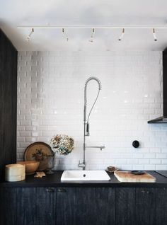 : Eclectic Industrial Style TrendHome : Eclectic Industrial Style Walking to Habitat restore now.TrendHome : Eclectic Industrial Style Walking to Habitat restore now. Küchen Design, Deco Design, Design Ideas, Lamp Design, Design Trends, House Design, Food Design, Sink Design, Design Table