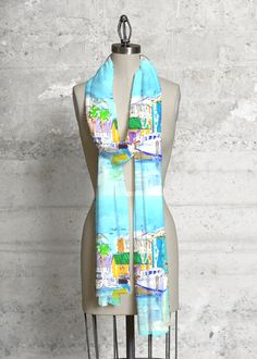 Modal Scarf - light kelp by VIDA VIDA