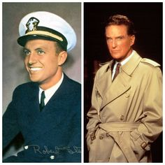 Robert Stack (January 13, 1919 – May 14, 2003) was a multilingual American actor and television host. During World War II,  because of his expertise as an Olympic champion skeet shooter, he was assigned to teach anti-aircraft gunnery in the United States Navy.
